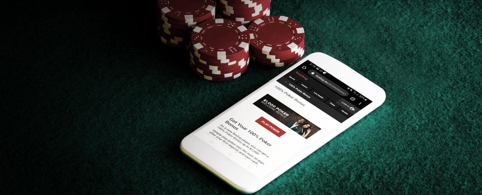 Bodog poker mobile app