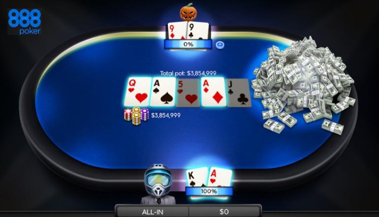 888poker poker games