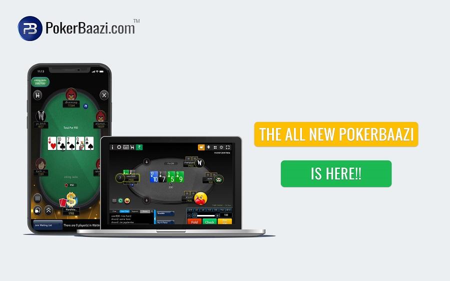 PokerBaazi is a poker app